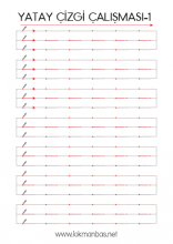2382x3368 Boyutlarında Yatay Çizgi Çalışması -1 İndir